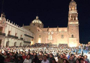 INICIA FESTIVAL CULTURAL ZACATECAS 2019 CON ESPECTACULAR CONCIERTO DE TONY LEWIS