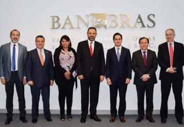 GOBERNADOR Y DIRECTOR DE BANOBRAS ANALIZAN PROGRAMAS DE FINANCIAMIENTO