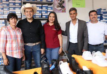 INAUGURA ULISES MEJÍA HARO FERIA ESCOLAR 2019 EN PLAZA BICENTENARIO