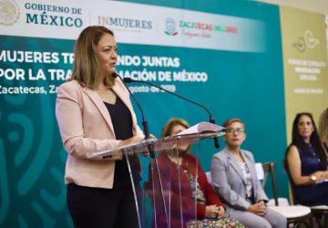 NECESARIO ESTABLECER POLÍTICAS INCLUYENTES PARA AVANZAR HACIA LA TRANSFORMACIÓN DE MÉXICO: VERÓNICA DÍAZ