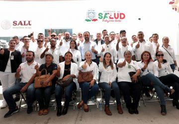 ENTREGA GOBERNADOR TELLO CENTRO DE SALUD PARA BENEFICIO DE FAMILIAS DE JOAQUÍN AMARO