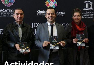 LA JOYA DE LA CORONA, SEDE DEL 1ER FESTIVAL DE CIUDADES PATRIMONIO MUNDIAL, ÚNICO EN EL PAÍS: ULISES MEJÍA HARO