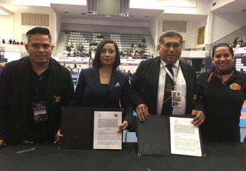 CDHEZ FIRMA CONVENIO CON LA FEDERACIÓN MEXICANA DE KARATE-DO