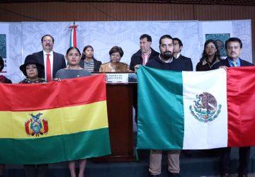 RESPALDA GRUPO PARLAMENTARIO DE AMISTAD MÉXICO-BOLIVIA A EVO MORALES