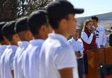 ENTREGA GOBIERNO DE MÉXICO LOS APOYOS DE BECAS BENITO JUÁREZ A ALUMNOS DEL BACHILLERATO GENERAL POLICIAL
