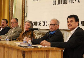 PRESENTA HUERTA EL LIBRO: LA CRISIS EN ESTADOS UNIDOS Y MÉXICO, 10 AÑOS DESPUÉS