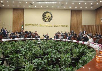 APRUEBA INE SANCIONES POR 586 MDP A PARTIDOS POLÍTICOS POR IRREGULARIDADES