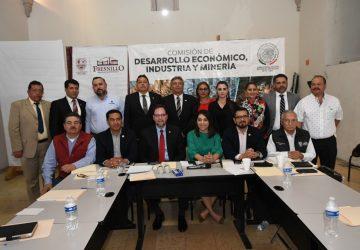 DIPUTADOS ACUDEN A FRESNILLO A LA SESIÓN DE LA COMISIÓN DE DESARROLLO ECONÓMICO