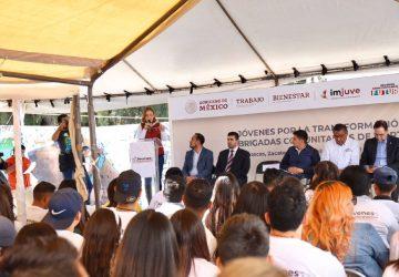 JÓVENES CONSTRUYENDO EL FUTURO Y BRIGADAS COMUNITARIAS PROMUEVEN EL RESCATE DE ESPACIOS PÚBLICOS