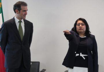 RINDE PROTESTA MA. DEL REFUGIO GARCÍA LÓPEZ COMO NUEVA TITULAR DEL SERVICIO PROFESIONAL ELECTORAL NACIONAL