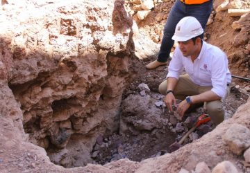 CON GRAN AVANCE LAS OBRAS DE RED HIDRÁULICA Y DRENAJE EN EL CENTRO HISTÓRICO: ULISES MEJÍA HARO