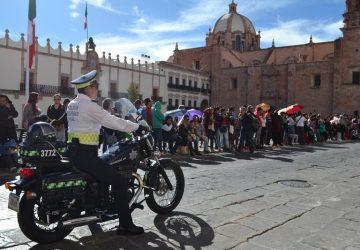 ANUNCIAN OPERATIVO VIAL POR DESFILE DEL DÍA DE LA BANDERA