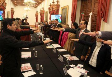 INSTALA GOBERNADOR TELLO CONSEJO ESTATAL DE ARCHIVOS DEL ESTADO DE ZACATECAS