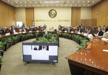 RECIBE INE INFORME SOBRE CONFORMACIÓN DE NUEVOS PARTIDOS POLÍTICOS NACIONALES