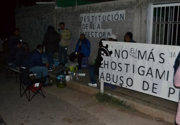 DOCENTES DE LA ESCUELA SECUNDARIA TÉCNICA 73 PROTESTAN, TOMAN LA ESCUELA Y EL BOULEVARD GUADALUPE – ZACATECAS