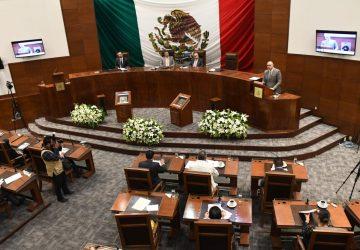 LA LXIII LEGISLATURA RECIBE AL FISCAL DE JUSTICIA DEL ESTADO PARA SU SEGUNDO INFORME DE ACTIVIDADES