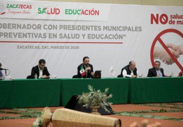 IMPARTE GOBIERNO DEL ESTADO A MUNICIPIOS MEDIDAS PARA MITIGAR EL COVID-19