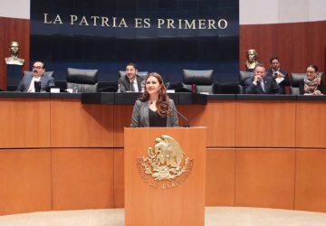 EXIGE GEOVANNA BAÑUELOS COMBATIR DELITOS DE ALTO IMPACTO EN ZACATECAS