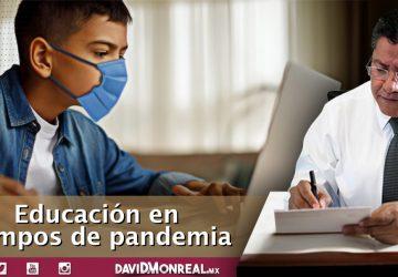 EDUCACIÓN EN TIEMPOS DE PANDEMIA