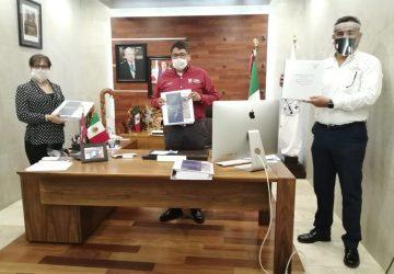 CUMPLE GOBIERNO DE TELLO A FRESNILLO CON ENTREGA DE ESTUDIO Y PROYECTO DEL NUEVO RELLENO SANITARIO