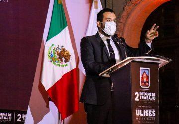 EX GOBERNADORES Y DIRIGENCIA NACIONAL Y ESTATAL DE MORENA BRINDAN TOTAL RESPALDO A ULISES MEJÍA HARO EN SU SEGUNDO INFORME DE TRABAJO.
