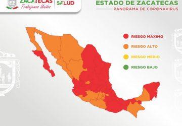 CON 72 POSITIVOS ESTE MIÉRCOLES, ZACATECAS REBASA LOS 6 MIL CONTAGIOS DE COVID-19