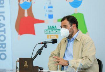 REGRESAN 58 MUNICIPIOS DE ZACATECAS A COLOR NARANJA DEL SEMÁFORO EPIDÉMICO