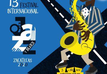 20 CONCIERTOS Y 4 ACTIVIDADES ACADÉMICAS EN EL 13º FESTIVAL INTERNACIONAL DE JAZZ Y BLUES 2020