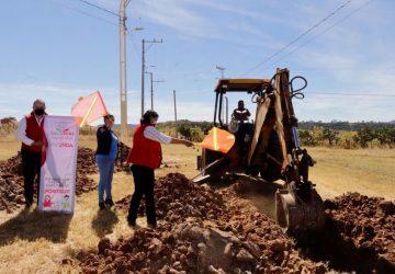 INICIA GOBIERNO DE TELLO CONSTRUCCIÓN DE 48 VIVIENDAS EN SANTA MARÍA DE LA PAZ