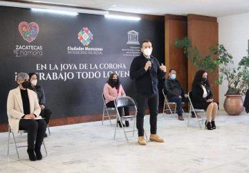 INMUZAI, SEDUZAC Y SEMUJER SUMAN ESFUERZOS EN BENEFICIO DE LAS MUJERES DE LA CAPITAL: ALCALDE ULISES MEJÍA HARO.