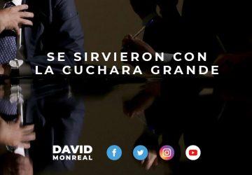 SE SIRVIERON CON LA CUCHARA GRANDE