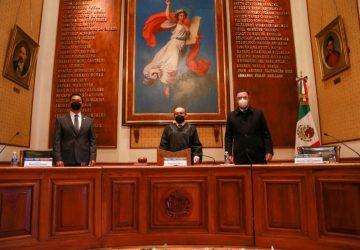 REFRENDA GOBERNADOR TELLO COMPROMISO DE TRABAJO COORDINADO CON EL PODER JUDICIAL