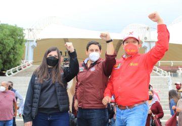 ESTOY AGRADECIDO DE TENER NUEVAMENTE LA OPORTUNIDAD DE SERVIR AL PUEBLO DE ZACATECAS: XERARDO RAMÍREZ