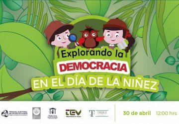 """TRIBUNALES ELECTORALES PRESENTAN EL LIBRO INFANTIL """"EXPLORANDO LA DEMOCRACIA"""""""