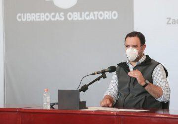 INICIARÁ EN BREVE VACUNACIÓN EN DOCENTES Y PERSONAS DE 50 A 59 AÑOS DE EDAD EN ZACATECAS