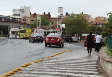 CON BOYAS, REDUCEN ACCIDENTES VIALES EN EL BULEVAR METROPOLITANO