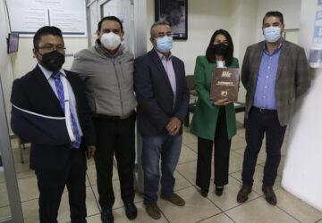 ENTREGA IEEZ EXPEDIENTE DEL CÓMPUTO ESTATAL DE LA ELECCIÓN DE GOBERNADOR AL TRIBUNAL ELECTORAL DEL ESTADO
