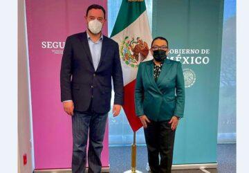 SOLICITA GOBERNADOR REFORZAR ACCIONES DE FUERZAS FEDERALES ANTE HECHOS VIOLENTOS EN ZACATECAS