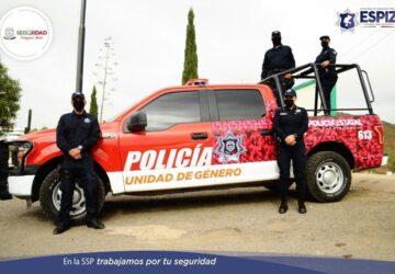 POLICÍA ESTATAL ATIENDE VIOLENCIA CONTRA LAS MUJERES, UN DETENIDO