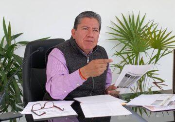 EN EL PRIMER DÍA DE GOBIERNO, INICIA LA RECONSTRUCCIÓN DE CARRETERAS: ADELANTA DAVID MONREAL