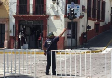CIERRAN CIRCULACIÓN EN CALLE FERNANDO VILLALPANDO POR HUNDIMIENTO