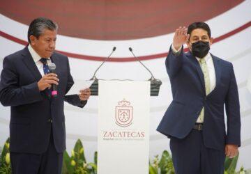 ZACATECAS SERÁ LA CAPITAL DE LA TRANSFORMACIÓN, HOY LLEGÓ LA NUEVA GOBERNANZA: JORGE MIRANDA