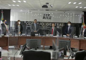 DECLARA IEEZ CONCLUÍDO EL PROCESO ELECTORAL LOCAL ORDINARIO 2020/2021