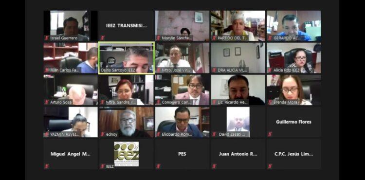 DECLARA IEEZ LA PÉRDIDA DE REGISTRO DE CUATRO PARTIDOS POLÍTICOS LOCALES