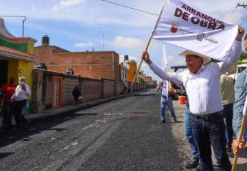 INICIA GOBERNADOR TRABAJOS DE BRIGADAS DE BACHEO PERMANENTE EN GUADALUPE, ZACATECAS