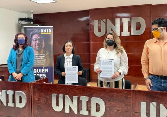 LA CDHEZ Y LA UNID ZACATECAS FIRMAN CONVENIO DE COLABORACIÓN