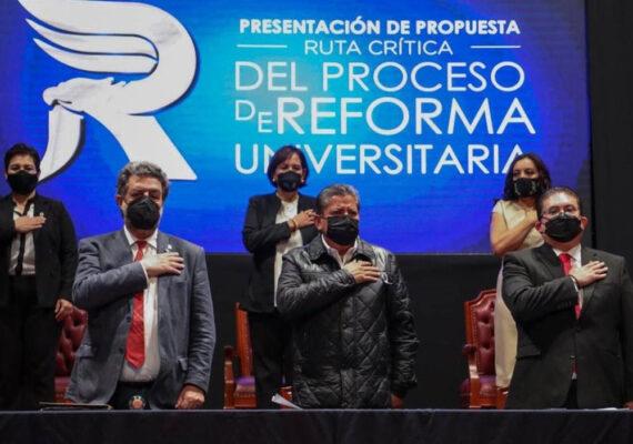 CON REFORMA DE LA UAZ JUNTOS LOGRAREMOS LA TRANSFORMACIÓN SOCIAL DE ZACATECAS: GOBERNADOR