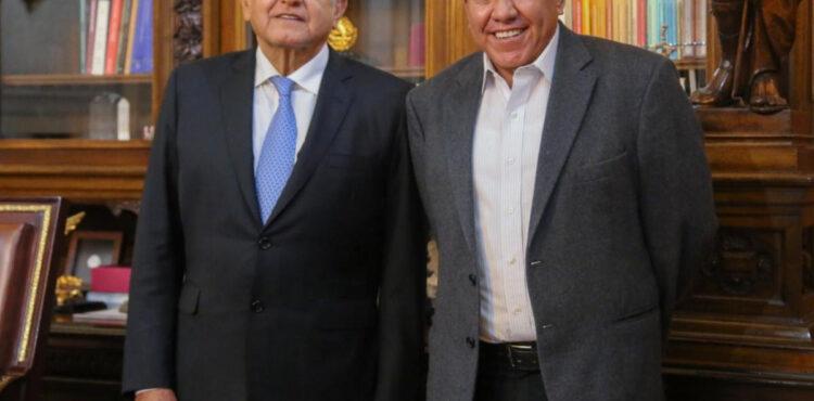 PLANTEA GOBERNADOR QUEBRANTO FINANCIERO AL PRESIDENTE ANDRÉS MANUEL LÓPEZ OBRADOR