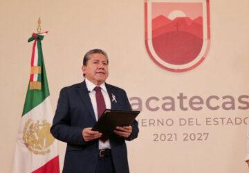 ANUNCIA GOBERNADOR DAVID MONREAL REVISIÓN ESCRUPULOSA DE LAS FINANZAS DEL ISSSTEZAC